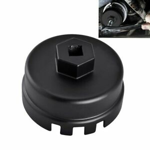 14 Flutes Oil Filter Cap Wrench Cup Socket Remover Tool Fit For Toyota Lexus