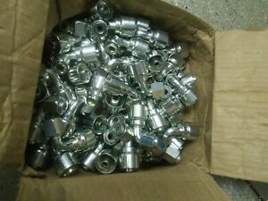 Box Of 67 Hydraulic Fittings 90 Flange 1 2 Hose Crimp 8 1j948 8 8 sa
