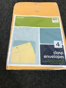 10 X 13 Manila Clasp Envelopes 284 Total Lot Wholesale Lot Use Or Resell