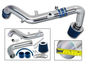 For 2007 2010 Scion Tc 2 4l Cold Air Intake System W Aluminum Pipe Filter Blue