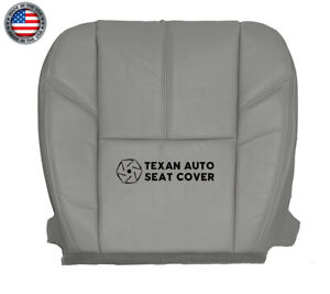 2007 2008 2009 2010 Gmc Sierra 1500 Slt Driver Bottom Leather Seat Cover Gray