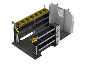 Hvac Van Shelving Package Compatible With Nissan Nv Low Roof Nvl 12