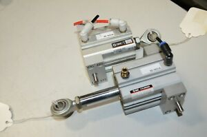 Creo Scitex Transetter Smc Ec02b40 450 50 1651a Z 2687 Air Cylinder Lot Of 2