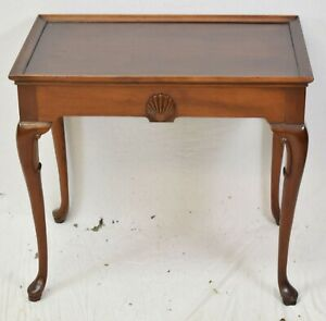 Hickory Chair Co Historic James River Collection Queen Anne Mahogany Tea Table