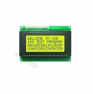 Lcd 16x4 1604 Character Lcd Display Module Lcm Yellow Blacklight 5v Us