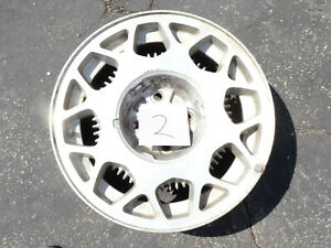 2 1987 1988 Ford Thunderbird Turbo Coupe Factory Aluminum Rim 87 88 Fox 16x7