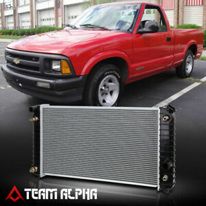 Fits 1996 2005 Chevy Gmc Blazer S10 Jimmy Aluminum Factory Replacement Radiator