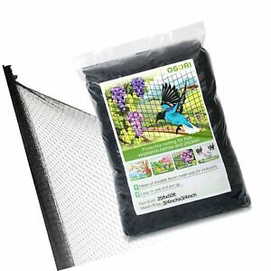 Ogori 25 X 50 Ft Bird Netting Poultry Netting Protect Plants And Fruit Trees