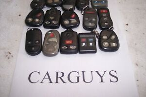 Lot Of 15 Keyless Entry Remotes Varous Chrysler Gm Volvo Honda Cars