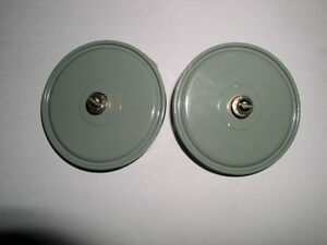 Doorknob Capacitor K15y 1 1500pf 4kv with Screw Lot Of 2pcs