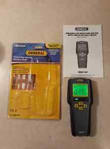 General Tools Mmd7np Moisture Meter Pinless Digital Lcd With Tricolor Bar Graph