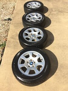 2004 Bmw 525i 16 Inch Wheels And Tires