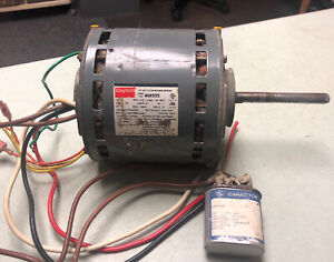 Dayton Blower Motor 4m995 K55hxbps 6169 1 2hp Rpm1075 2 Spd Tested 30 Day Wty