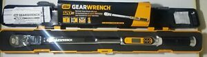 New Gearwrench 1 2 Dr 120xp Electronic Flex Head Torque Wrench W Angle 85196