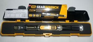 New Gearwrench 1 4 Dr 120xp Electronic Flex Head Torque Wrench W Angle 85194