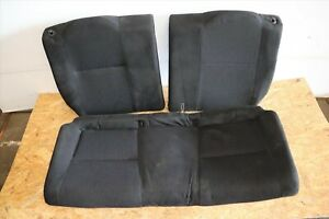 Jdm Honda Integra Dc5 K20a Type R 2002 2006 Acura Rsx Rear Oem Black Seats