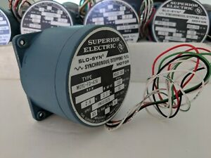 Superior Electric Slo syn Stepping Motor Stepper M091 fd 426 Synchronous Motor