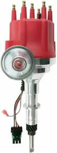 Pro Series R2r Distributor For Chevy 194 230 250 292 I6 Engine Red Cap