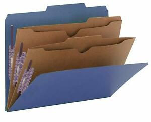 Lot Of 19 Smead 14077 Classification Folders W pocket style Dividers Letter