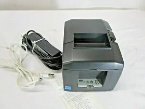 Star Micronics Tsp650ii Ethernet usb Thermal Printer Auto Cutter W Power Supply