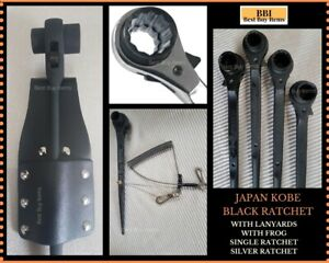 17x19 19x21 19x24mm Ratchet Podgers Spanners Steel Erecting Scaffold Tool Wrench