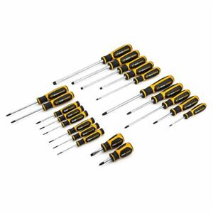 Gearwrench 80066 Master Set Screwdriver Kit Standard Phillips And Torx 20 Piece
