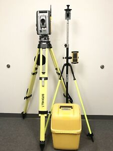 Trimble Rts555 Dr Std 5 Robotic Survey Total Station W Nomad Mep Surveying S6