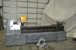 17 X 80 Clausing Colchester Engine Lathe 3 1 2 Hole Through Spindle