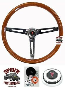 1967 1968 Gto Tempest Grand Prix Steering Wheel 15 Muscle Car Wood