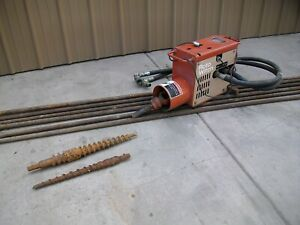 Ditch Witch Roto Witch Trencher Plow Boring Drill Attachment W 60 Rods