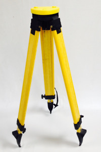 Fiber Tripod For Total Station Leica Topcon Sokkia Trimble Etc