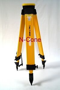 Wooden Tripod For Leica Topcon Sokkia Trimble Total Station