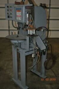 2 Ton Denison Hydraulic Press 6 Station Rotary Table 6 Stroke 12 Daylight