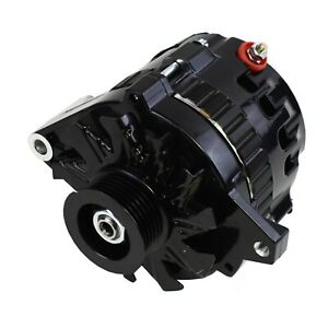 A Team Performance Gm Cs130 Style 160 Amp Alternator All Black