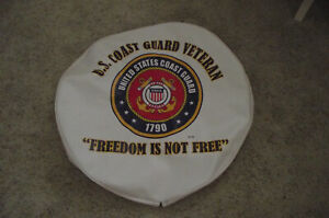 Spare Tire Cover 35 X 12 5 Us Coast Guard custom Made