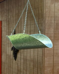 Vintage General Store Farm Produce Galvanized Hanging Scale Basket W Chains