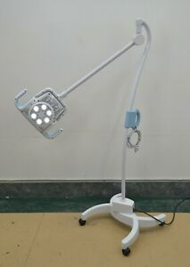 Welch Allyn Green Series Procedure Light W Mobile Stand Ref Gs900