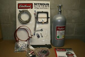 Edelbrock 70053 Performer Rpm Nitrous Plate System Dominator 4500 Series Carbs