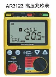 High Voltage Smart Sensor Ar3123 2500v Insulation Resistance Tester Polarizat Nx