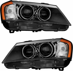 2011 2012 2013 2014 Fits For Bmw X3 Hadlight Pair Right Left Side