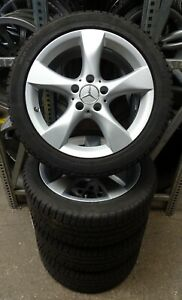 4 Mercedes Benz Winter Wheels 225 45 R17 M S Dot16 17 B Class W246 Cla C117