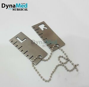 X ray Marker With Scale Left And Right Set Veterinary Instrument