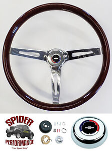 69 73 Chevelle El Camino Steering Wheel Classic Bowtie 15 Muscle Car Wood
