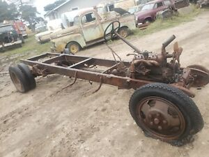 1931 Ford Aa Truck Model A 1928 29 30 Hot Rod Frame Rails Rat Rod Chassis