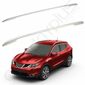 Alloy Top Roof Side Rail Luggage Rack Cross For 14 19 Nissan Rogue 14 17 X Trail