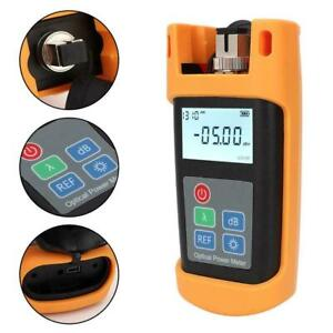 Kpm 25m Optical Power Fiber Meter Visual Fault Locator Optic Cable Tester Tool