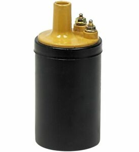 1965 1973 Ford Mustang Galaxie Fairlane Maverick Ignition Coil Yellow Top New