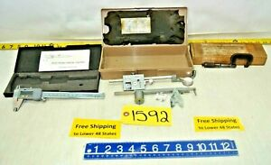3 Machine Shop Tools Micrometer Digital Caliper Bruning Planimeter 80 511