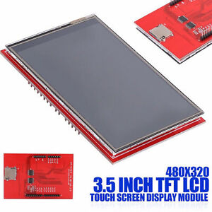 3 5 Inch Tft Lcd Touch Screen Display Module 480x320 For Arduino Mega 2560 Board