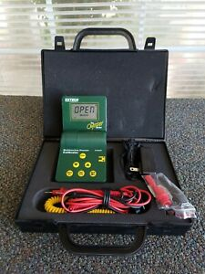 Extech Oyster Series Multifunction Process Calibrator 412400 Case Free Ship